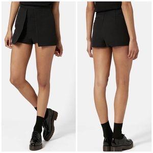 NWOT TopShop Black Tilly Shorts Skort